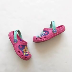 Paw Patrol clog water shoes VGUC size 11/12